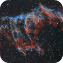 NGC 6992 - Fangs/Bat Nebula In the Veil,                                Paddy Gilliland