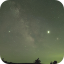 Milky Way over the Shenandoah Valley – Group 2- A Time Lapse Project,                                Van H. McComas