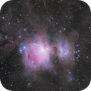 M42, 43 and the dusty surrounds,                                Andrew Lockwood