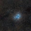 M45 Pleiades and the dusty region,                                  Mario Gromke