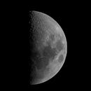 Moon 1st quarter,                                Astroshoot31