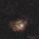Lagoon (M8) and Trifid Nebula (M20),                                Demetris Psomas