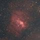 NGC7635 og M52,                                Kenneth Sneis