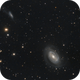 NGC 4725 One Armed Spiral Galaxy,                                GALASSIA 60
