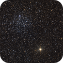 M46 in full with its little donut.,                                Claudio Tenreiro