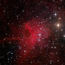 The Spider Nebula (SH2-234 or IC 417),                                KuriousGeorge