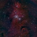 Cone Nebula NBRGB,                                Eric Cauble