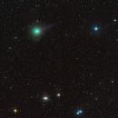cometa C/2018 Y1 Iwamoto a nord di M104,                                  Rolando Ligustri