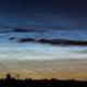 Noctilucent clouds over Rheinau,                                Christoph Wetter