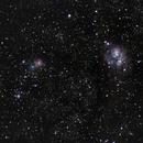 Lagoon and Trifid Nebula - Untracked,                                João Pedro Gesser