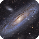 The Great Andromeda Galaxy - Messier 31 - with some IFN,                                Arno Rottal