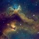 IC1871: Soul Nebula treasure in HST,                    Jose Carballada