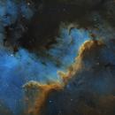 Cygnus Wall (NGC 7000),                                AstroBadger