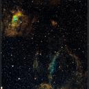 NGC 7635  (Bubble)   Narrow band,                                Roland Oeyen