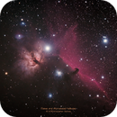 Flame and Horsehead Nebulae,                                Kristopher Setnes