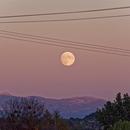 Moonrise over the Alps,                                Eddy Cochez