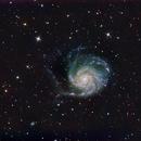 M101 on Lacerta 250,                                Piet Vanneste