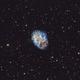 M1 - Crab Nebula in SHO,                                Igor von Nyssen