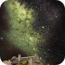 Rhyolite Ghost Town & Milky Way,                                Stephen Charnock