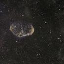 NGC 6888 The Crescent Nebula,                                 degrbi