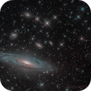 NGC 7331 HDR & Cropped,                                Miles Zhou