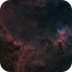 Heart Nebula IC1805,                    Tolga