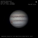 Jupiter RGB + CH4 animation 2018 02 05 from 08:14 to 08:45 UT,                    Almir Germano