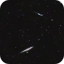 Whale NGC4631 and Hockey Stick NGC4656 Galaxies,                                Alastairmk