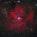 Cone Nebula - Partie de NGC 2264,                                Roger Bertuli