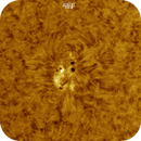 Sunspot AR2734, Colored, HA, 03-06-2019,                                Martin (Marty) Wise