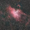 Messier 16 (Eagle Nebula, Pillars of Creation),                                Brian Sweeney