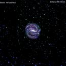 ngc6952 galassia  nel  cepheus                                                   distanza  59 milioni A.L.,                                Carlo Colombo