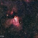 nebulosa omega m 17,                    Javier piñón