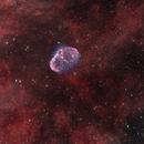 Crescent and Soap bubble Nebula,                                Nicholas Bradley