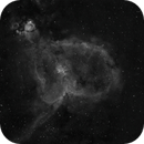 Heart Nebula, IC 1805 in Hα,                                StuartJPP
