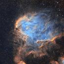 IC2944 Running Chicken Nebula,                                David Nguyen