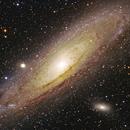 M31 Andromeda Galaxy,                    Jerry Macon