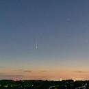 Comet NEOWISE rising,                                thakursam