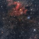 SH2-155 Cave nebula,                                Andre van der Hoeven