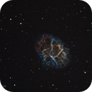 The Crab Nebula in Narrowband,                                Don Curry