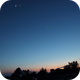 Sirius, Moon and Venus,                                Txema Asensio