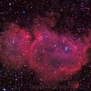 Soul Nebula, IC 1848,                    1074j