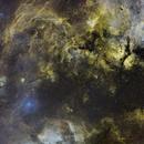 Cygnus Mosaic Deneb to Sadr,                                hbastro