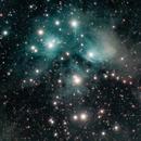 M45 - The Pleiades,                                Jared Holloway