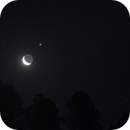 Moon and Jupiter,                                Máximo Bustamante
