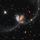 The Antennae Galaxies - NGC 4038,                                Wissam Ayoub