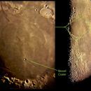 Moon - Bessel crater, Sea of Serenity,                                Donnie Barnett