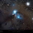 Corona Australis Nebula Complex with Hyperstar,                                Paul Baker