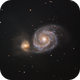 M51 - The Whirlpool Galaxy,                                Ludger Solbach