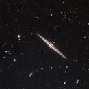 NGC 4565 - Needle Galaxy (LRGB),                                Dhaval Brahmbhatt